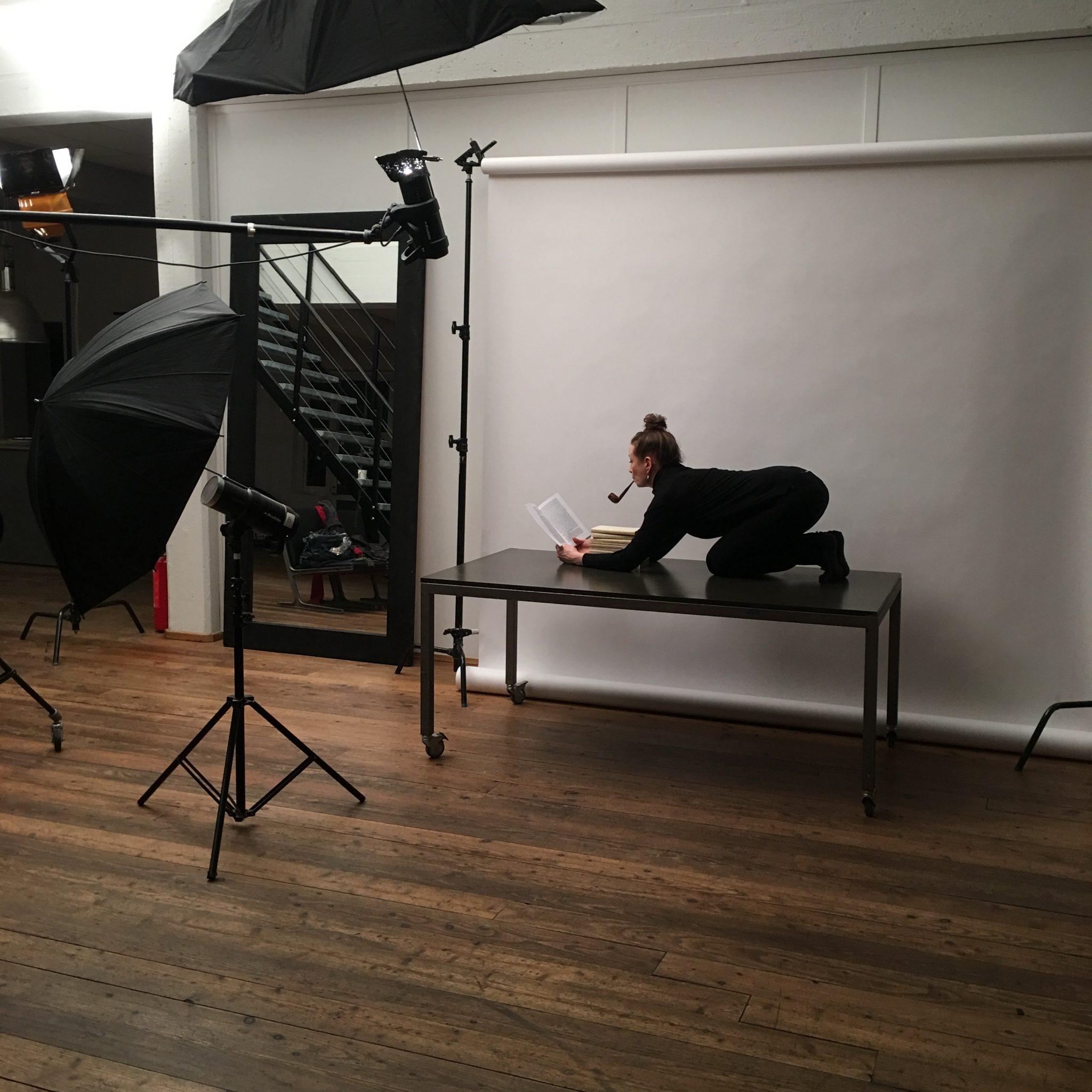 Fotoshoot med Robin Skjoldborg til forestillingen Beauvoir 2019