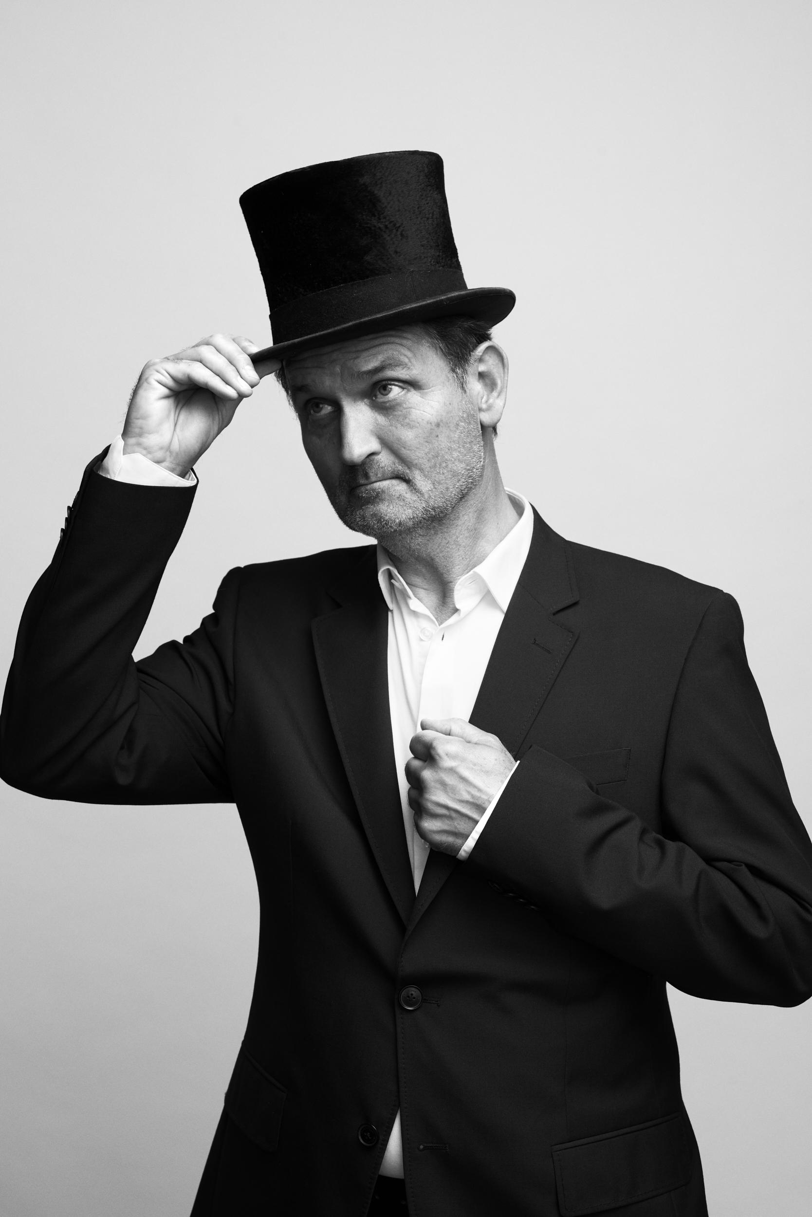 Niels Ellegaard. Foto: Robin Skjoldborg