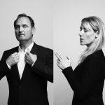 Niels Ellegaard og Anette Støvelbæk. Foto: Robin Skjoldborg