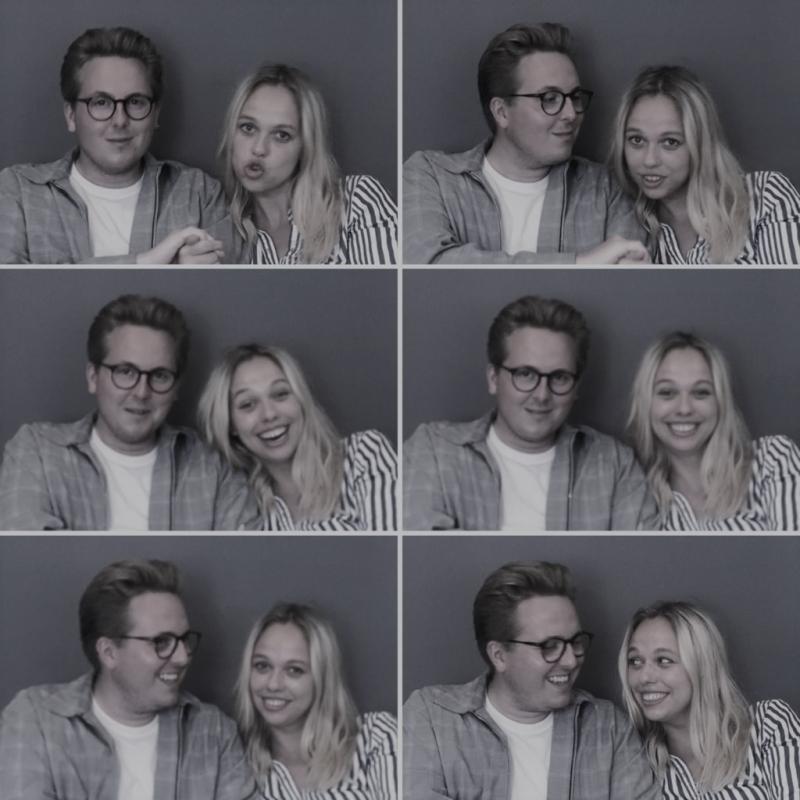 Thomas Korsgaard og Frida Brygmann.